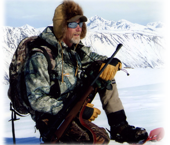 Professional Hunter Rick Young in Alaska